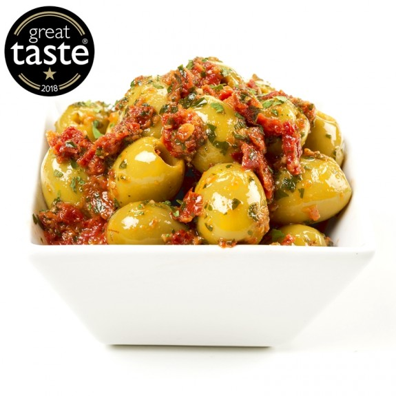 Arancini Pitted Olives - Great Taste Award 1 star 2018