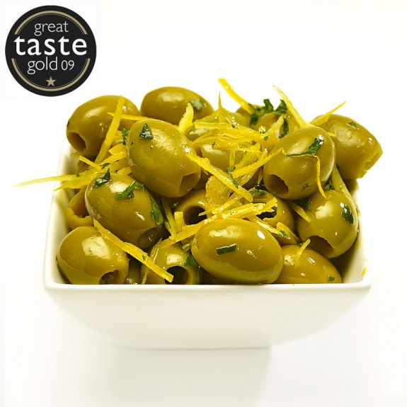 Limoncello Pitted Olives