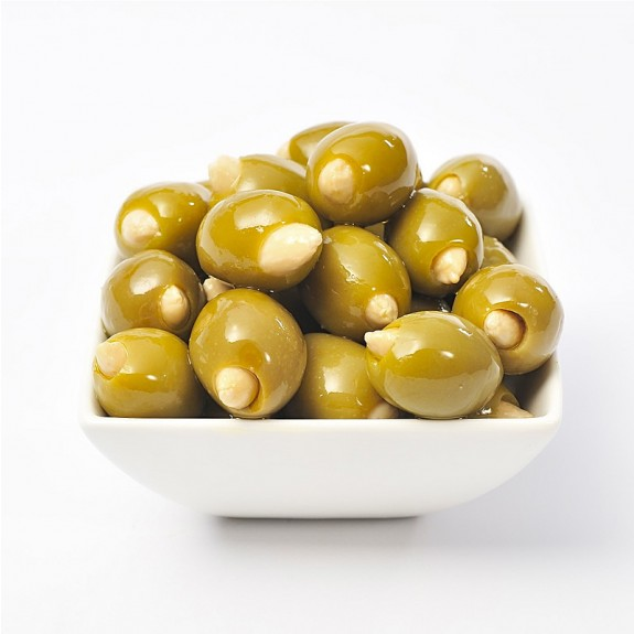 Almond Stuffed Colossal Olives from Olives Direct