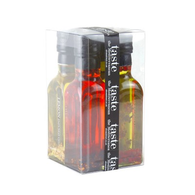Chilli, Oregano, Lemon & Garlic Infused Oils Gift Set