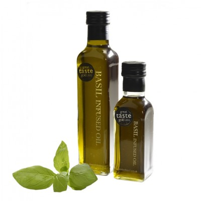 Basil Infused Olive Oil - 125ml and 250ml