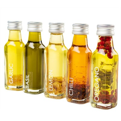 Mini Infused Oil Gift Set - stocking filler for Foodies