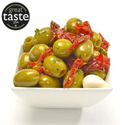 Caprese award winning pitted olives