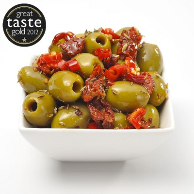 Romano Pitted Olives