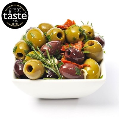 Award winning Mediterranean Pitted Olives