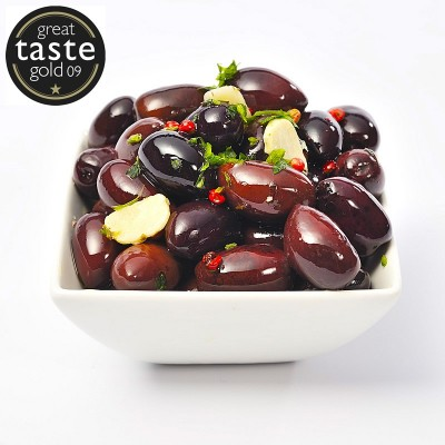 Oregano & Garlic Whole Olives