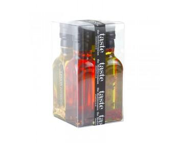 Chilli, Oregano, Lemon & Garlic Infused Oils Gift Set