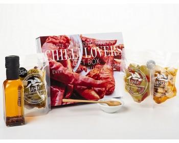 Chilli Lovers Foodie Gift Box - contents