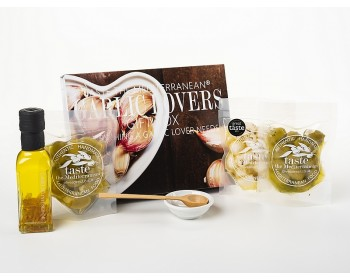 Garlic Lovers Foodie Gift Box through your Letterbox - contents