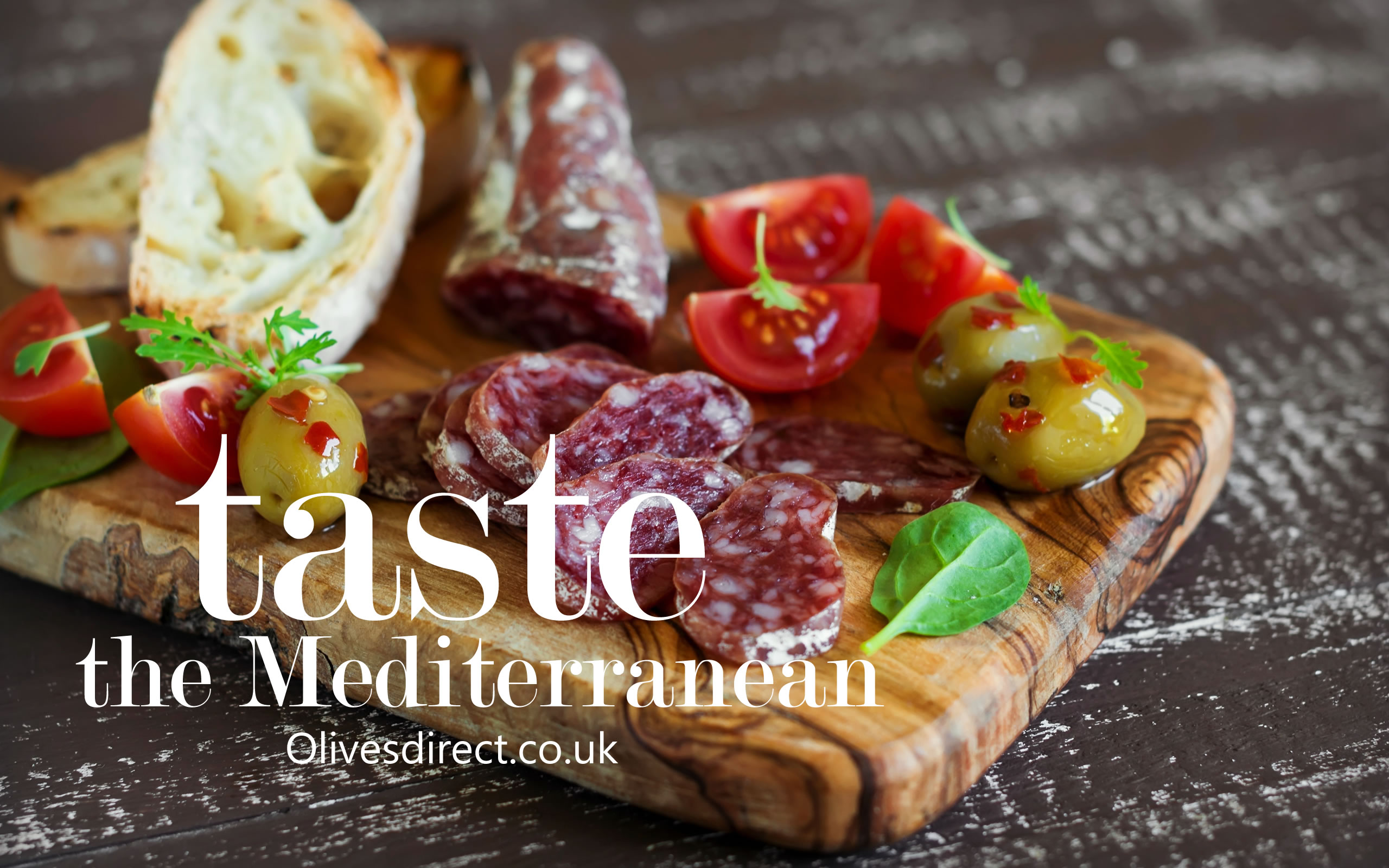 Fresh Anti Pasti from Olives Direct