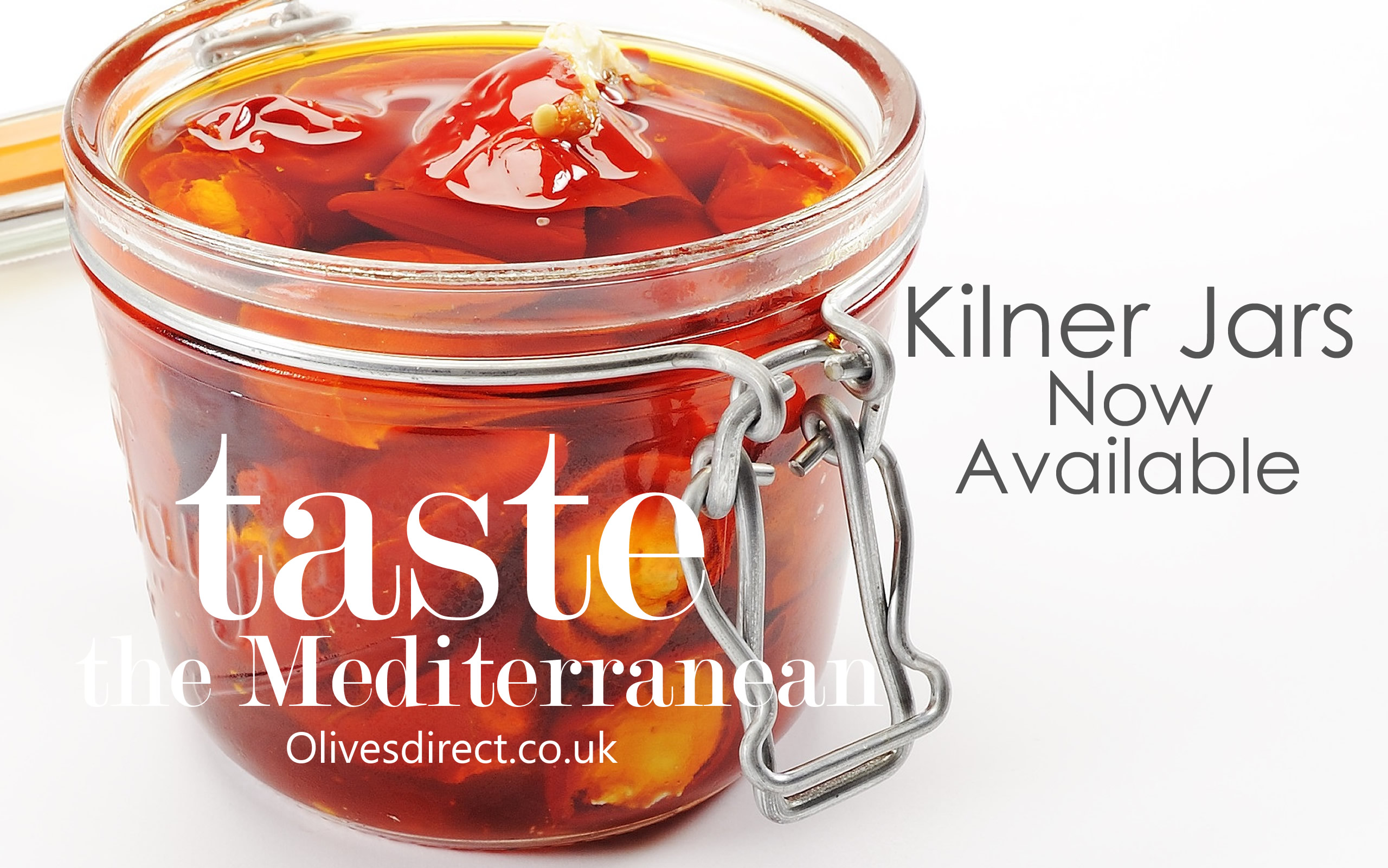 Fresh Olives in Kilner Jars